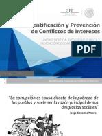 Presentación Identificación y Prevención Conflictos de Intereses