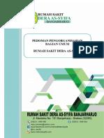SAMPUL PEDOMAN Pengorganisasian Umum RSDA
