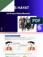 3.1 Proses Pernafasan Manusia