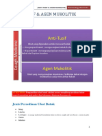 17) Anti-Tusif & Agen Mukolitik