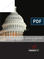 2009 Progressive Congress Annual Report