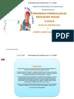 PROGRAMA CURRICULAR DE EDUCACION INICIAL