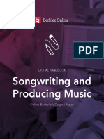 Berklee Online Writing and Producing Music Viewbook