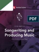 Berklee Online Writing and Producing Music Viewbook
