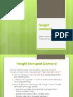 K8 - Freight Demand