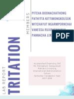 tritation