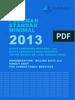 Billing Rate Inkindo 2013