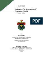 MAKALAH Ecological Indicators For Assessment Of Ecosystem Health.docx
