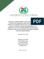 Final Position Paper Legal Technique