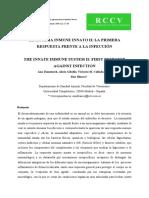 Sistema Inmune Innato INTRODUCCIÓN (1)