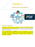 Nucleo v- Proyecto