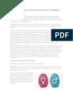 Interpretación Social de Masculinidad y Feminidad