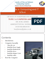 Topic 3-Computer Assembly