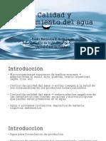 Calidad y Tratamiento Del Agua- Unidad 2