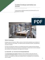 Mecalux.com.Ar-El Fabricante de Muebles Euréquip Automatiza Sus Procesos de Producción