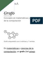 Grafo - Wikipedia, La Enciclopedia Libre