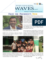 Waves News Letter