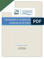 Inventario de Calderas El Salvador