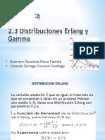 Presentacion Erlang y Gamma