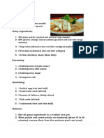 Mee Jawa Recipe
