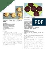 Bake Recipe