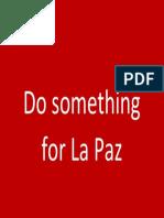 Do Something for La Paz