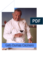 Gato Dumas Cocinero - Recetas