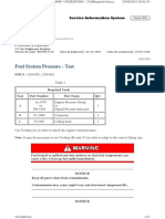 Fuel System Pressure - Test (2)