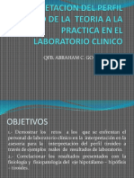 Interpretacion Del Perfil Tiroideo