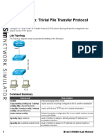 Sequential Lab Trivial File Transfer Protocol