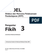 RPP Dan Silabus Fikih MI 3 R1