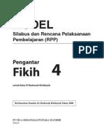 RPP Dan Silabus Fikih MI 4 R1