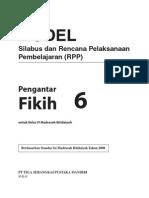 RPP Dan Silabus Fikih MI 6 R1