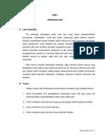 Contoh laporan Konstruksi tes