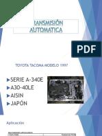 TRANSMISIÓN AUTOMATICA