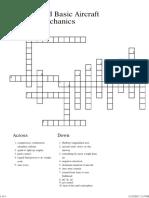 Crossword Update