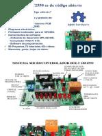 SISTEMA MICROCONTROLADOR BOLT 18F2550.pptx