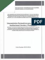 1lineamientos Isep 2013-2014