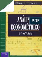 Análisis Econométrico - 1999 - 3era edición - Greene.pdf