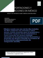 Importaciones y exportaciones en mexico