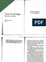 José Bleger - Gpos Operativos en La Enseñanza (2)