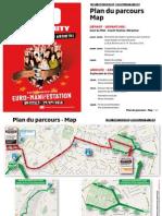 Plan et intinéraire Euro-Manifestation du 29 septembre 2010