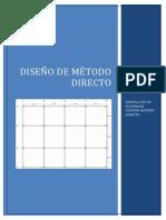 Diseño de Método Directo