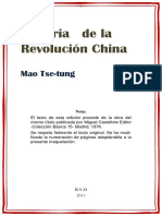 Mao Tse-tung.- Historia de la revolucion china.pdf