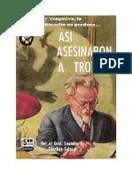 Sánchez Salazar, Leandro - Así Asesinaron a Trotski