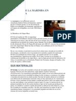 Historia de La Marimba en Guatemala
