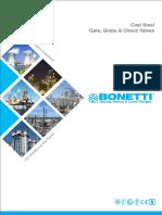 Gate, Check, Globe Valve - Bonneti
