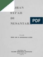 Aboebakar Atjeh - Aliran Syiah Di Nusantara