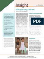 Insight - Why Stunting Matters (English)