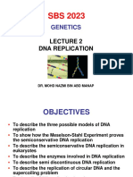 Lecture 2(DNA Replication)